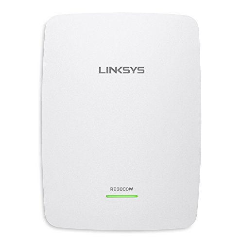Linksys RE3000W N300 Wi-Fi Range Extender - (Renewed)