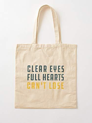 Lose Night Team Clear High Lights Eyes Friday Fnl School Full Hearts Fußball Cant | Einkaufstaschen aus Segeltuch mit Griffen Einkaufstaschen aus nachhaltiger Baumwolle