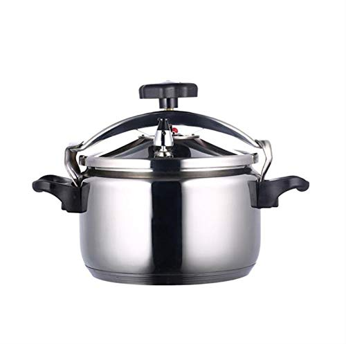 304 Stainless Steel Pressure Cooker,commercial Explosion-proof Pressure Cooker, Large Capacity Double Bottom Pressure Cooker, Induction Cooker Gas Stove Universal Pressure Cooker, Multifunctional Hous