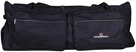 Crossrock Drum Hardware Bag with Removbale Shoulder Strap 48 inch Standard CRSD70HB product image