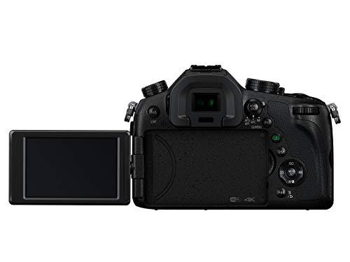 Panasonic LUMIX DMC-FZ1000G9 Premium-Bridgekamera (20,1 Megapixel, 16x opt. Zoom, opt. Bildstabilisator, LEICA DC VARIO-ELMARIT Objektiv, 4K Video) schwarz
