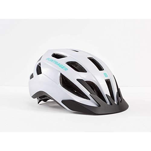 Capacete Bontrager Solsitce de ciclismo verde miami com branco