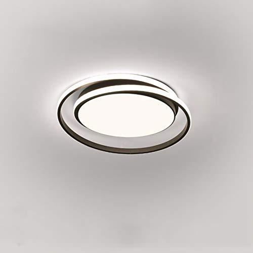zlw-shop Ceiling Light Lámpara de Techo Moderna y Elegante Simple Moderno Redondo Personalidad Creativa lámpara de Estudio iluminación cálida Sala de Estar lámpara de Techo Lámpara Techo