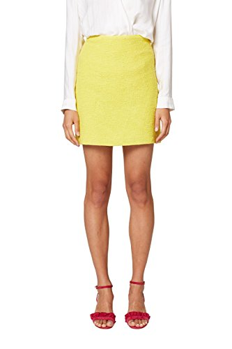 ESPRIT Collection 048eo1d004 Falda, Amarillo (Yellow 750), 36 (Talla del Fabricante: 34) para Mujer