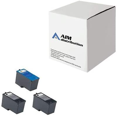 AIM Compatible Replacement for Dell 926/V305 Inkjet Combo Pack (2-BK/1-CR)(Series 9) (2B1C305) - Generic