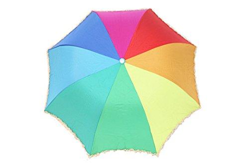 GTWP GTWP GT Umbrella Regenbogen Regenschirm Sun Rain Umbrella Anti-UV Waterproof Parasol Regenschirm Sunshade