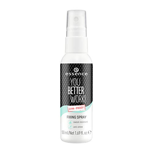 Essence Cosmetics You Better Work! Spray de fijación resistente al agua 50 ml