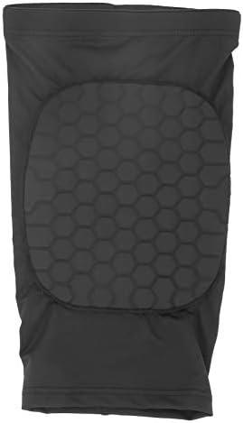 Lichtgewicht comfortabel voert snel transpiratie af Cellulaire knieschijf 1 stuks zwart verlicht vermoeidheid en pijnXL