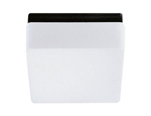 RZB Wand-/Deckenleuchte/schwarz / IP43 / E27 / 24 x 24 x 11 cm 20128003