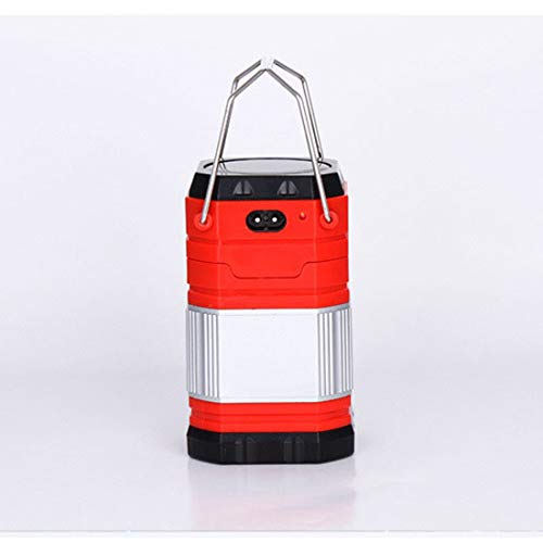 Ultimate Rechargeable LED Lantern, Luz Solar, 800mAh USB
