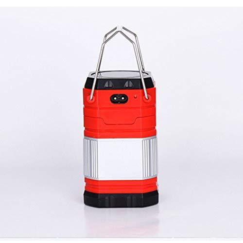 Ultimate Rechargeable LED Lantern, Luz Solar, 800mAh USB