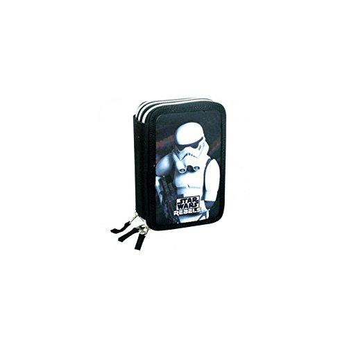 Star Wars Rebels ''Stormtrooper'' 3-fach Federtasche gefüllt Etui, Federmappe gefüllt