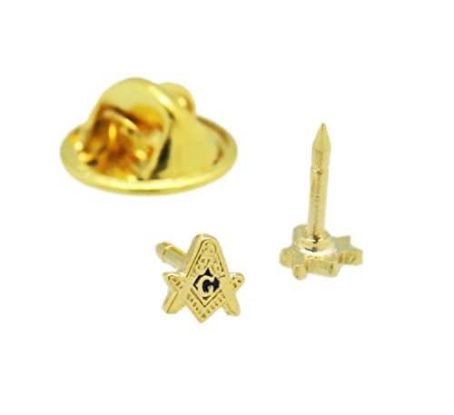 Square & Compasses Masonic Freemason Lapel Pin 3/16'