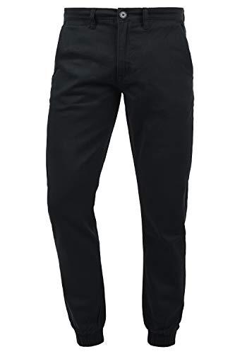 BLEND Pellini Pantalón Chino Pantalones De Tela para Hombre Elástico, tamaño:W32/32, Color:Black (70155)