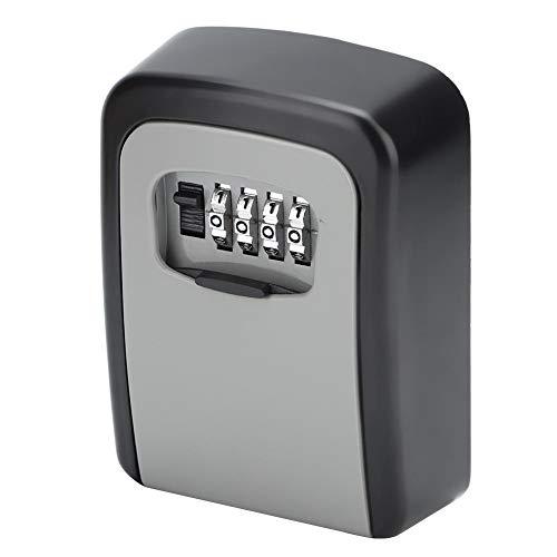 Caja de Seguridad con Cerradura, Caja de Seguridad para Llaves, Robusta Fácil de Recordar Fácil operación Evita los martilleos Simple para el hogar
