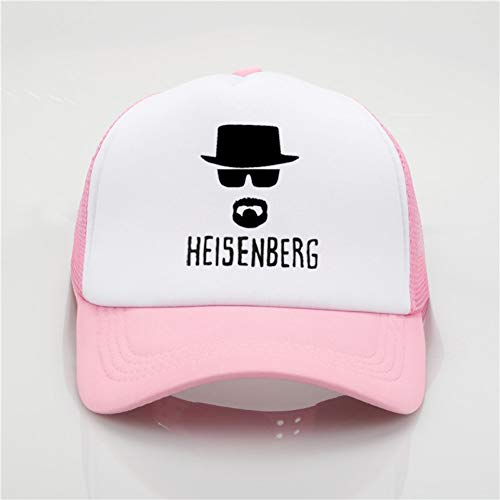 Gcbpwh Cap Mode Mesh Hut Heisenberg Bedruckte Baseballmütze Männer und Frauen Sommermütze Junge Wilder Sonnenhut Strand Sonnenhut