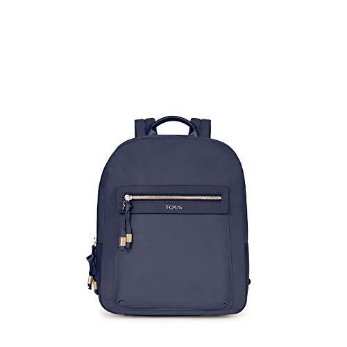 Tous Brunock Chain, Bolso mochila para Mujer, Azul (Marino 695810086), 26x33x9.5 cm (W x H x L)