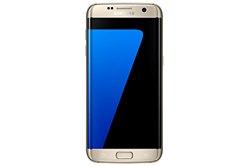 Samsung Galaxy S7 Edge G935F LTE Smartphone, 5,5 Zoll (14 cm), 4G, 32 GB, 12 MP Kamera, Android, Goldfarben
