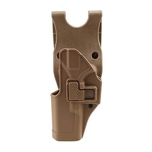 Gexgune Taktische Glock Holster militärische Concealment Linke Hand Paddel Taille Gürtel Pistole Pistole Holster (4 Modelle 2 Farben optional)