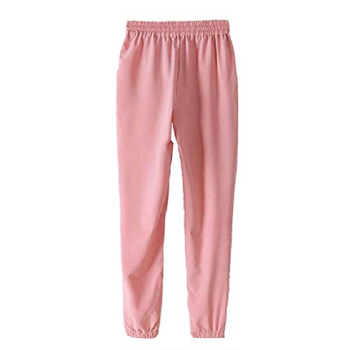 U/A Women Harem Pants Loose Trousers Women Elastic High Waist Casual Pants Office Pants Lady Pants