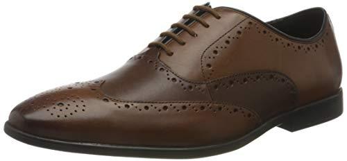 Clarks Herren Bampton Rhodes Oxford-Schuh, Tan Combi,45 EU