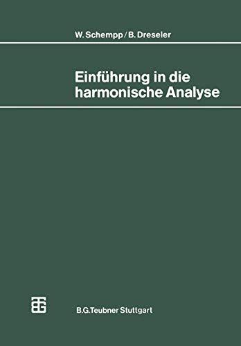Einführung in die Harmonische Analyse (Mathematische Leitfäden) (German Edition)