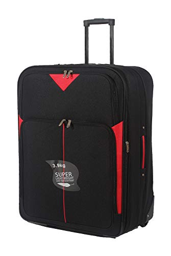 32'/85cm Superlight Extra Large Suitcase Soft Lightweight Expandable Luggage Suitcase Trolley Bag XL