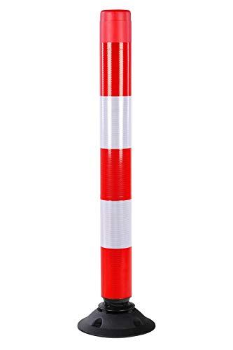 Flexibler Absperrpfosten aus Polyethylen, Pfostenhöhe:1000 mm