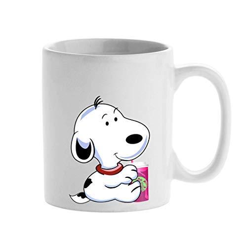 Personalisierte Tasse, Starbucks-Cartoon-Tasse mit Snoopy-Motiv, 325 ml