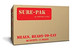 Case of 12 Sure-Pak MRE Meals