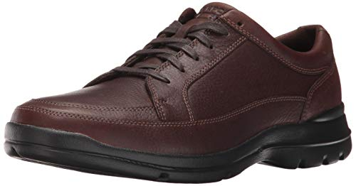 Rockport mens Junction Point Lacetotoe Oxford, Chocolate, 10.5 US