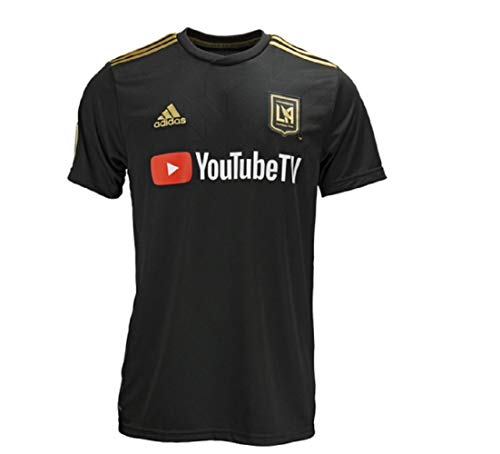 adidas 2019 LAFC Home Jersey (Black/Gold) (S)