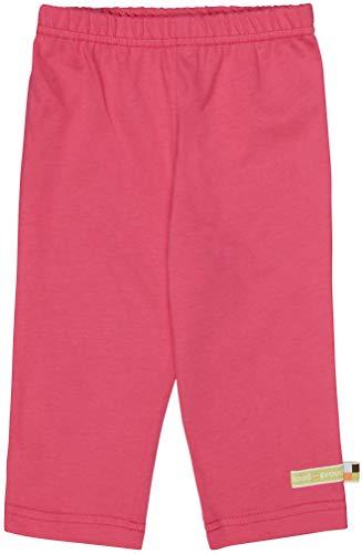 loud + proud Kinder-Unisex Hose Uni Leggings, Azalea, 110/116