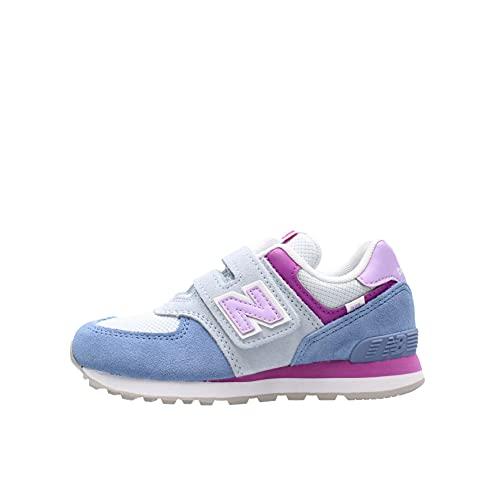 New Balance 574 sneaker Celeste-Viola da bambina PV574SL2