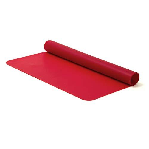 Cuisy KB50351 Plaque Cuisson en Silicone 35X24 CM-Couleur ALEATOIRE, Noir/Rouge/Vert