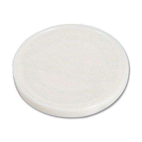 Lot de 500 jetons de caddie blanc sans impression (vierge) possibilité d'utiliser en jeton buvette ou jeton casier de piscine