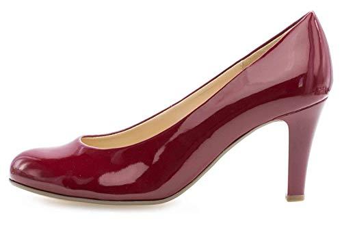 Gabor Fashion Pumps in Übergrößen Rot 31.310.75 große Damenschuhe, Größe:42.5