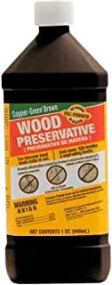 Green Products 33004 Copper Brown Wood Preservative for Surface Protection, 1-Quart