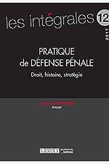 Pratique de défense pénale Broché