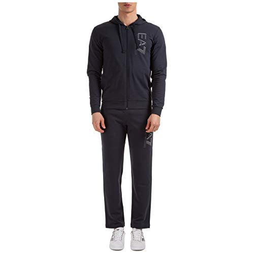 Emporio Armani EA7 Hombre Chandal Night Blue