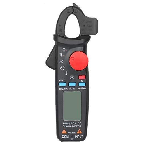 Rrunzfon Multímetro Digital Multi probador del amperímetro del voltímetro Ohmímetro AC/DC Ohm voltios amperios y diodo de tensión probador Metro precisión