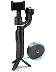 3-Axis Handheld Gimbal Stabilizer,Phomnd F6 Smartphone Gimbal 3-Axis Handheld Stabilizer Compatible with Samsung S10/iPhone11Pro/Max Android Smartphones Mobilephone
