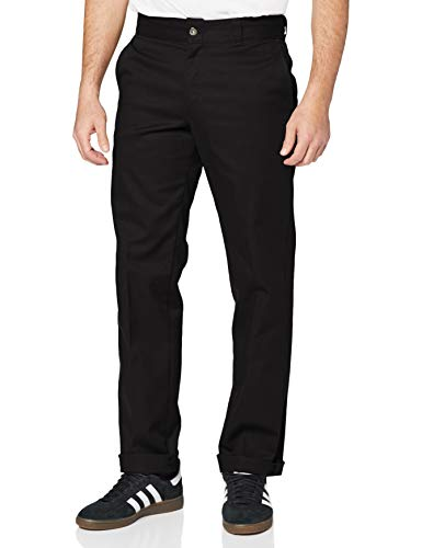 Dickies Herren Hose Industrial Work Pant, Black, 34W / 32L