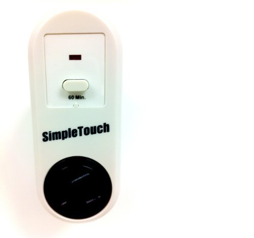 Simple Touch C30002 the Original Auto Shut-Off Safety Outlet, Single Setting Model: C30002 Health and Beauty