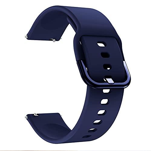 PAZHOU Cinturino in Silicone da 20 mm da 22mm per Orologio Galassia Attivo 2 40mm 44mm / 3 41mm 45mm / per Huawei GT 2 46 Bracciale da 42 mm Bracciale