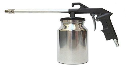 Bamax BX10610C Pistola Lavaggio Aria Compressa ad Uso Semiprofessionale, Made in Italy, Grigio/Argento