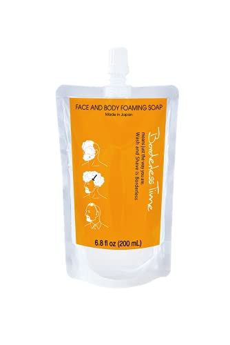 Borderless Time Body and Face Foaming Soap Wash for Sensitive Skin  ...