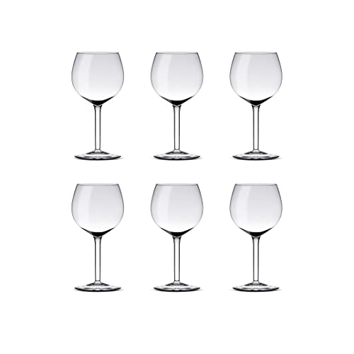 Set nr 6 calici G.H (calici vino rosso cl 29)