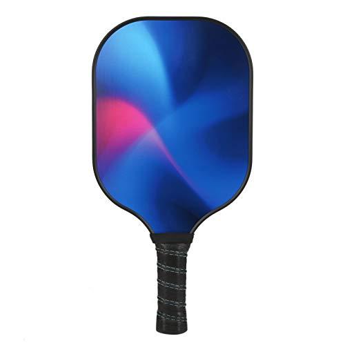 DAUERHAFT Raqueta de Pickleball de Fibra de Carbono con núcleo de polímero PP para Deportes de Pelota al Aire Libre(Picture Color)