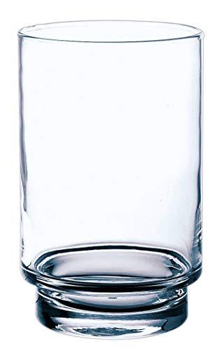 INNA-Glas Lot 3 x Bougeoir - Lanterne en Verre BOB, Transparent, 18,5cm, Ø12cm - Porte-Bougie - Photophore Transparent